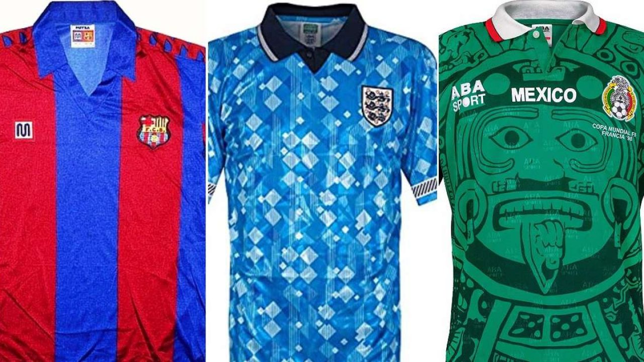 50 Of The Best Football Shirts Of All Time Have Been Ranked Sportal World Sports News