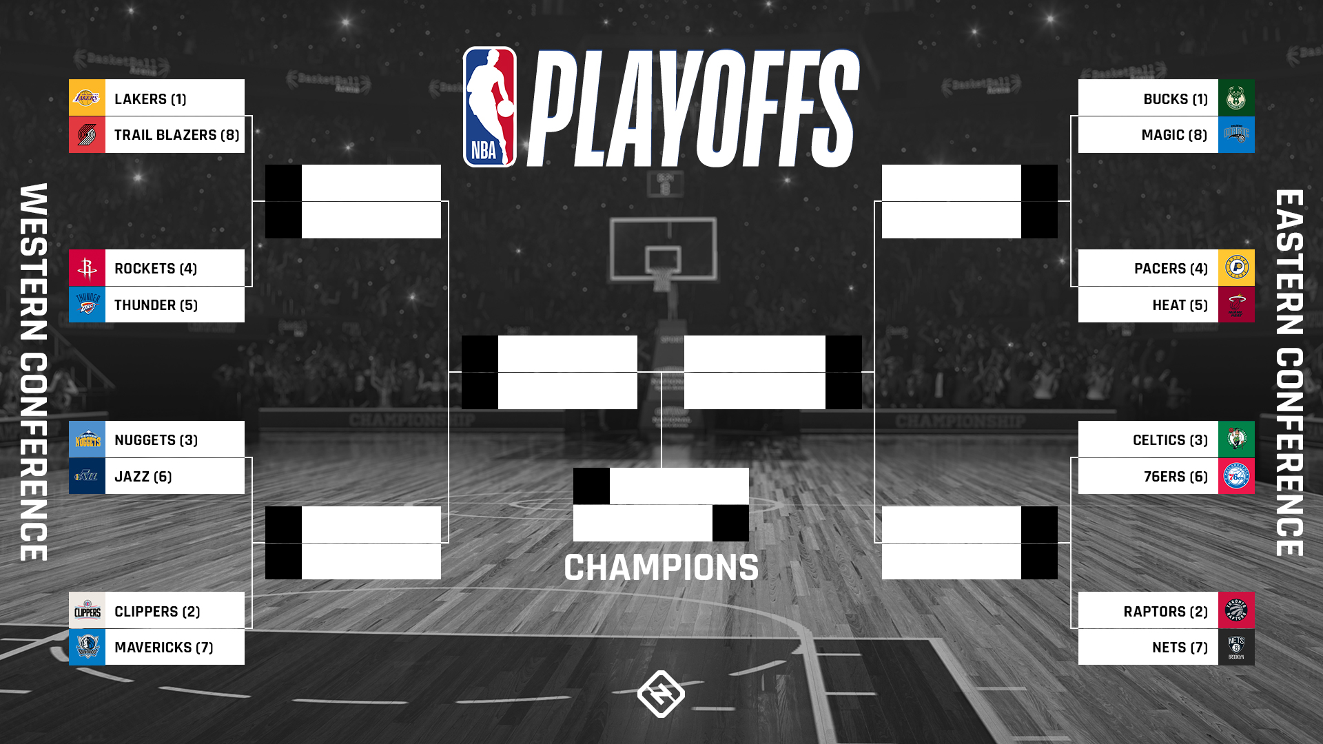NBA playoffs bracket 2020: Updated TV schedule, scores, results for Round 1 in the bubble | Sportal - World Sports News
